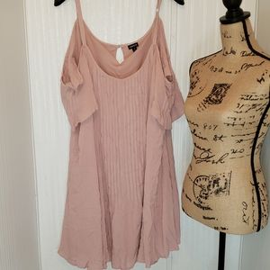 Torrid Pink Dress Top Size 4X